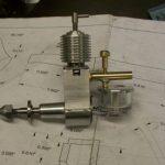 Mills 1.3cc diesel engine completed.