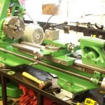 Refurbished Myford ML7 lathe