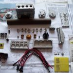 Main castings and components for the Edgar Westbury 15cc Seal engine