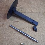 Cam turning fixture for Westbury 15cc Seal Engine