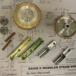 Parts for a wobbler engine
