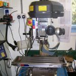 My Axminster Tools RF25 round column Milling machine