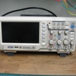 Oscilloscope used for my electronics course