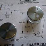 Fuel tanks for Mills 1.3cc diesel engine