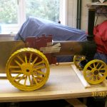 "2"" scale Fowler Traction Engine"
