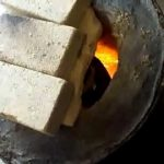 Gas fired furnace homemade for casting Aluminium