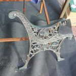 How to restore a cast iron bench