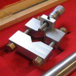 Measuring head inline boring bar set