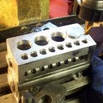 Valve seatings on Seal engine block
