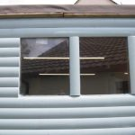 Double glazed replacement unit