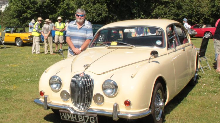 Mk2 Jaguar 340 goes to its first Show. A JEC South West Event