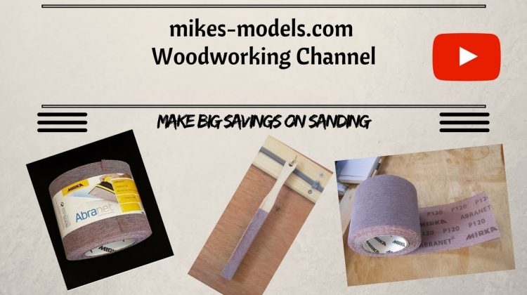 Save Money When Sanding!