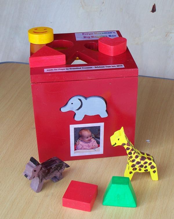 wooden puzzle box