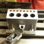 Skimming the head of a Seal 15cc cylinder block