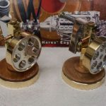 Pair of wobbler engines from issue one of Model Engine Builder MEB