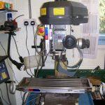My Axminster Tools RF25 round column Milling machine