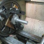 Home cast stub axle