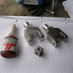 Version 1 of the Universal joint for steering column for ride in van