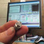 Hexagonal head CNC'd by home converted RF25 milling machine