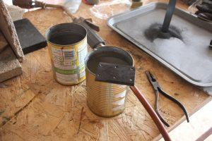 Hardening bright mild steel using Eternite hardening powder