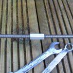 Restoration garden cast iron bench