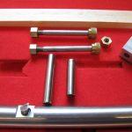 Mounting bolts inline boring bar