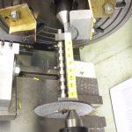 Edgar T Westbury's Seal machining camshaft on fixture