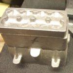 Edgar T Westbury's Seal engine cylinder head casting
