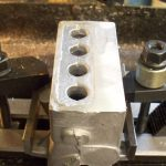 Cutting top of engine block Seal engines