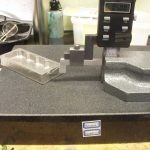 Height gauge for Seal sump casting