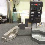 Height gauge manifold casting Seal engine