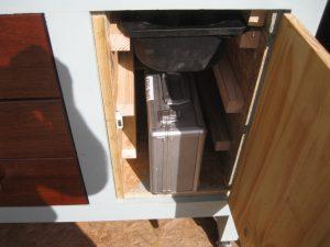 Lathe workbench