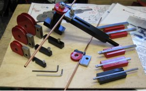 Copper Tube Bending kit for 3,4,5,6 and 8mm pipe